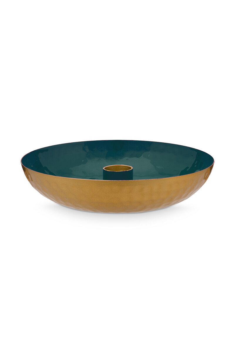 Color Relation Product Candle Tray Small Dark Green 16 cm