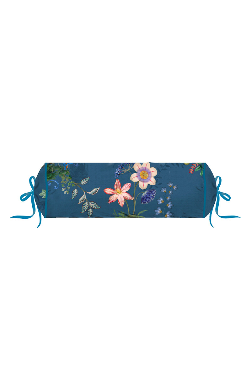 Color Relation Product Neck Roll Chinese Porcelain Blue