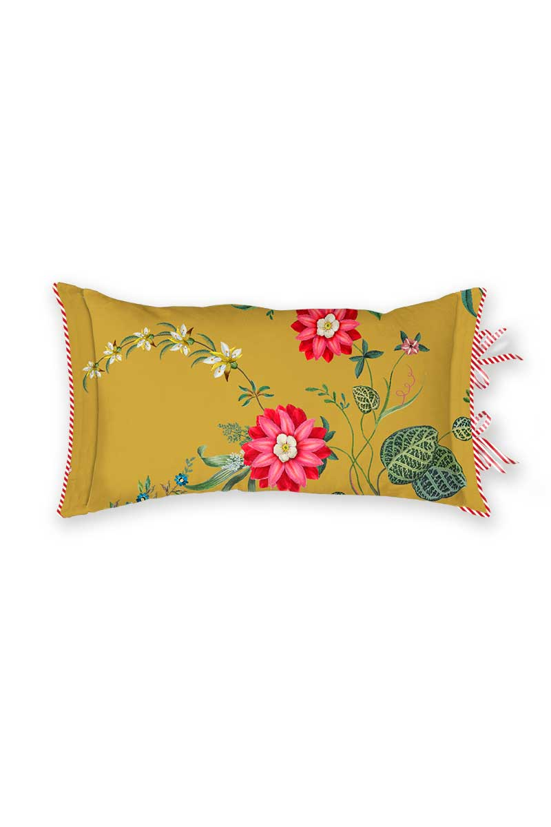 Color Relation Product Cushion Rectangle Petites Fleurs Yellow