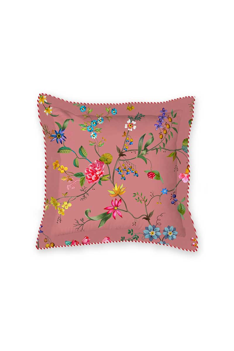 Color Relation Product Cushion Square Petites Fleurs Pink