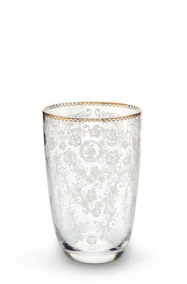 Floral longdrink glass