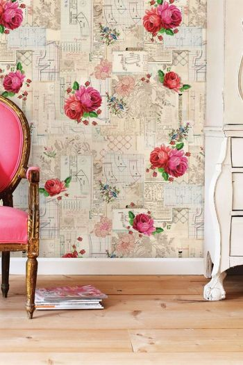 wallpower-non-woven-flowers-pink-multicolour-pip-studio-pip-patterns