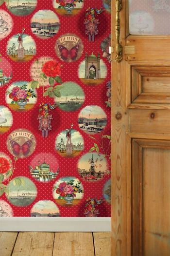 wallpower-non-woven-flowers-red-pip-studio-remember-brighton