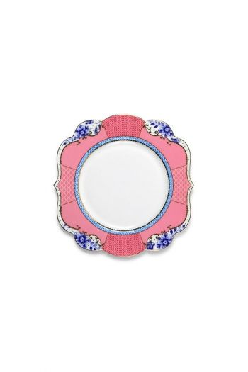 Royal cake plate 17 cm multicoloured