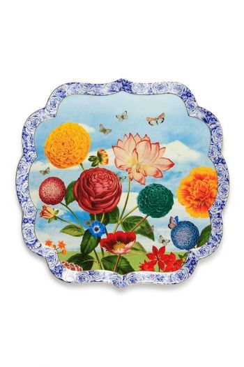 Royal serving dish 38 cm multicoloured