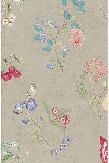 Pip Studio Cherry Pip Wallpaper Khaki