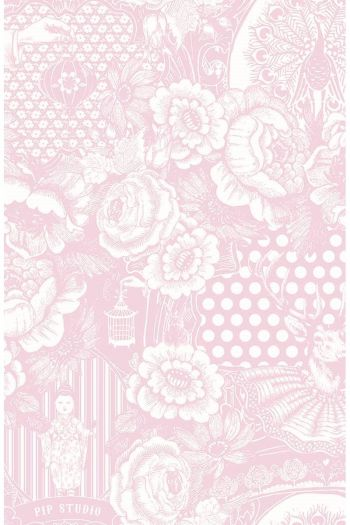 wallpaper-non-woven-flowers-baby-pink-pip-studio-deerest-peacock
