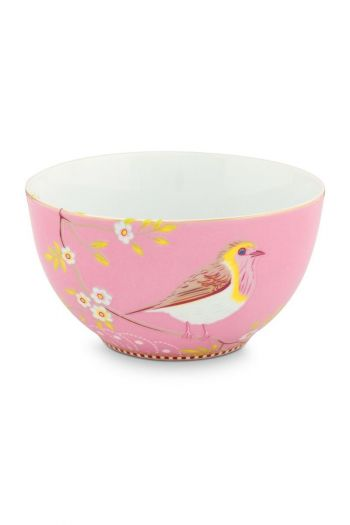 Floral Bowl Early Bird 15 cm Pink
