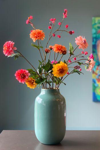 Artificial-flowers-red-silk-pip-garden-pip-flowers-pip-studio