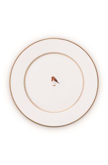 Gebaks-bordje-17-cm-wit-gouden-details-love-birds-pip-studio