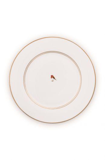 dinner-plate-26,5-cm-white-gold-details-love-birds-pip-studio