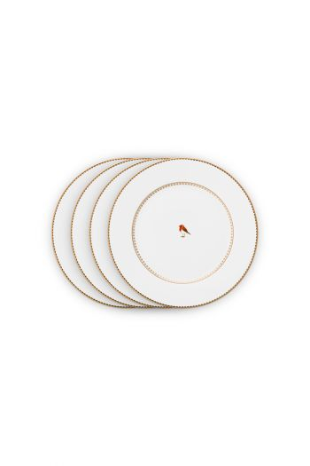 ontbijt-bord-set-4-plates-21-cm-wit-gouden-details-love-birds-pip-studio