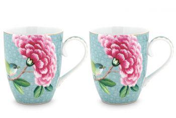 mokken-groot-set-van-2-blauw-bloemen-vogels-print-blushing-birds-pip-studio-350-ml