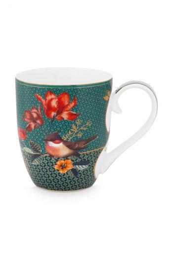 Mug-XL-450-ml-green-gold-details-winter-wonderland-pip-studio