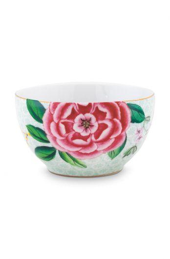 bowl-small-white-flower-print-blushing-birds-pip-studio-9,5-cm