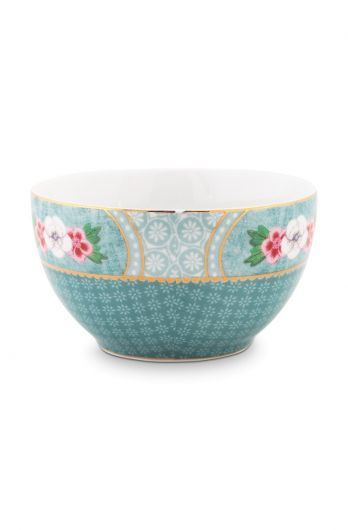 Blushing Birds Star Flower Bowl blue 9.5 cm