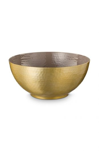 metal-bowl-enamelled-khaki-gold-blushing-birds-pip-studio-27-cm