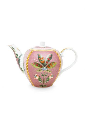 Teapot-large-1,6-liter-pink-gold-details-la-majorelle-pip-studio