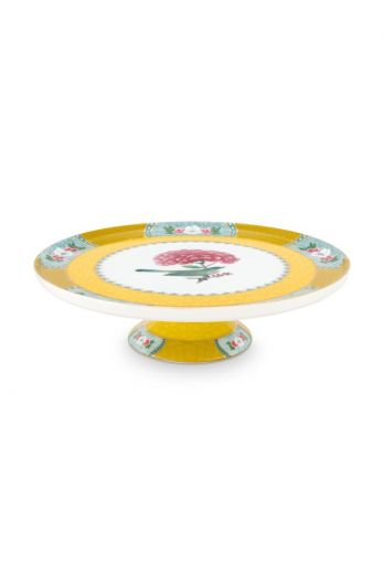 Blushing Birds Cake Tray Mini Yellow