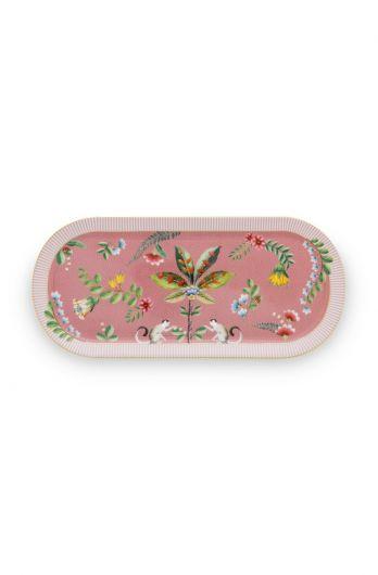 La Majorelle Rectangular Cake Tray Pink