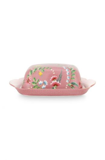 La Majorelle Butter Dish Pink