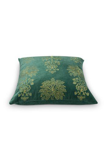 kussen-groen-bloemen-vierkant-sierkussen-palmtree-pip-studio-2-perosonen-45x45-katoen