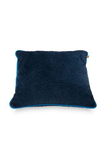 Kussen-quilted-donker-blauw-vierkant-50x50-cm