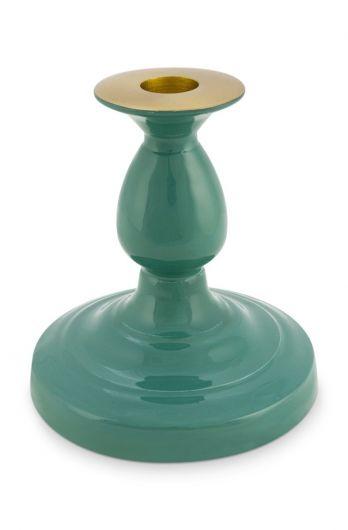 metal-candle-holder-green-blushing-birds-pip-studio-14-cm
