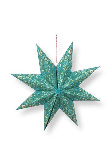 Kerst-ster-papier-groen-pip-studio-60-cm