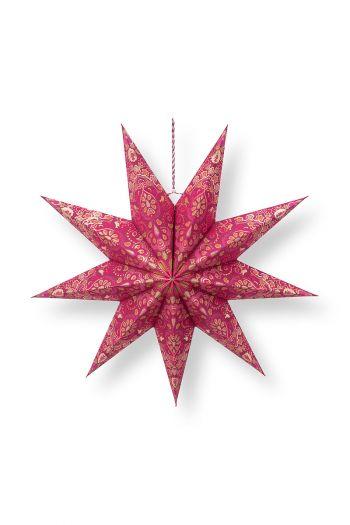 Kerst-ster-papier-rood-pip-studio-60-cm