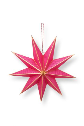 Kerst-ster-papier-roze-pip-studio-60-cm
