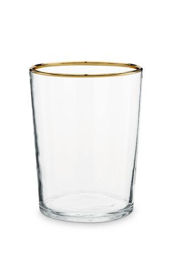 Glas-teelichthalter-goldener-rand-wohn-accessoires-pip-studio-7,5x12-cm
