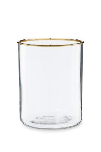 Glass-tea-light-holder-gold-edge-home-decor-pip-studio-12,5x16-cm