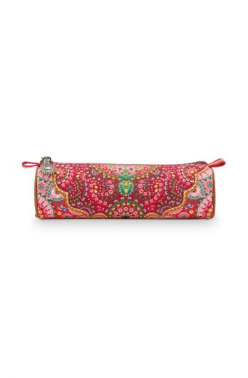 Make-up-etui-rood-bloemen-moon-delight-pip-studio-22,5x9,5x15