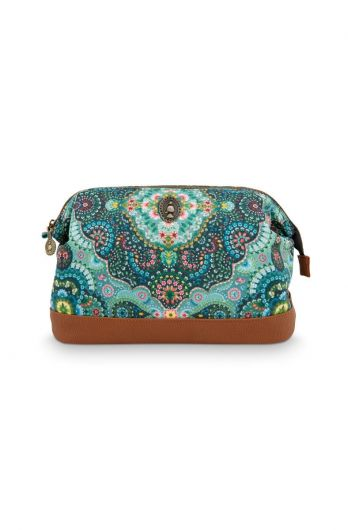 Cosmetic-purse-large-blue-floral-moon-delight-pip-studio-22,5x9,5x15