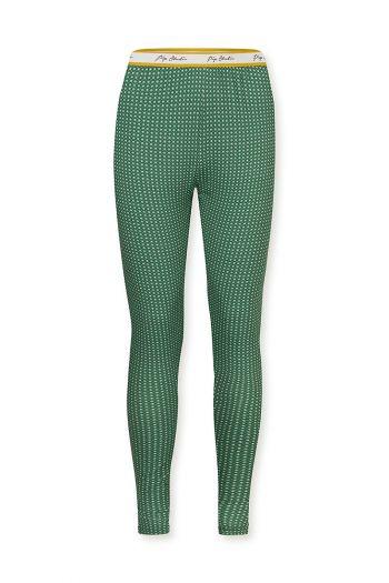 Lange-broek-legging-barok-print-groen-star-tile-pip-studio-xs-s-m-l-xl-xxl