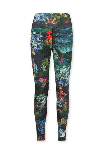 Sport-leggings-trousers-long-botanical-print-blue-pip-garden-pip-studio-xs-s-m-l-xl-xxl