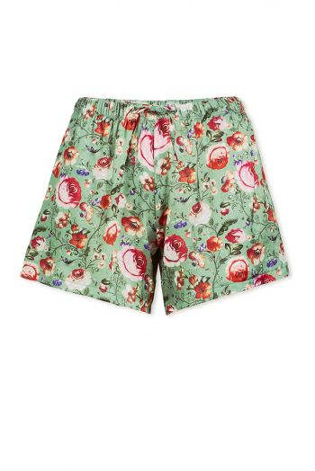 Trousers Short Folkflore Fantasy Green