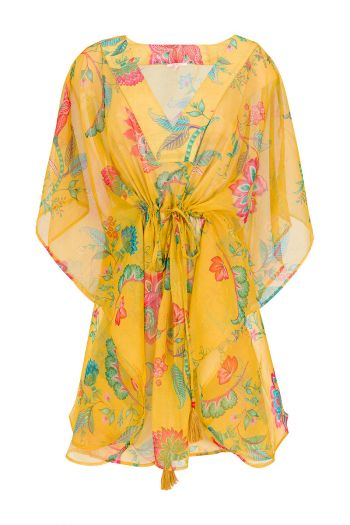 Tunic Jambo Flowers Yellow