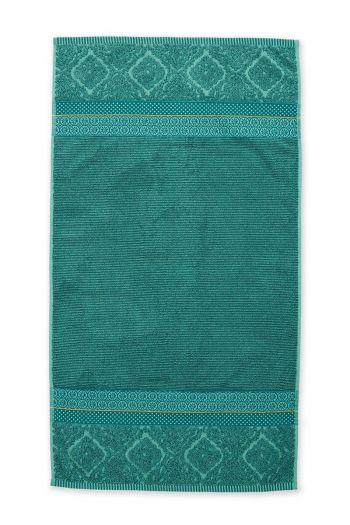 Douchelaken-handdoek-groen-55x100-soft-zellige-pip-studio-katoen-terry-velour