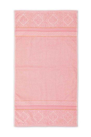 Bath-towel-pink-55x100-soft-zellige-pip-studio-cotton-terry-velour