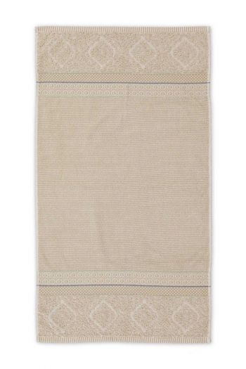 Baddoek Soft Zellige Khaki 55x100 cm