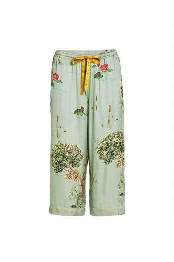 Bodyl-3/4-trousers-swan-lake-big-light-groen-woven-pip-studio-51.502.019-conf