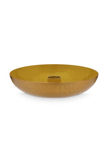 metal-candle-tray-small-yellow-pip-stduio-16-cm