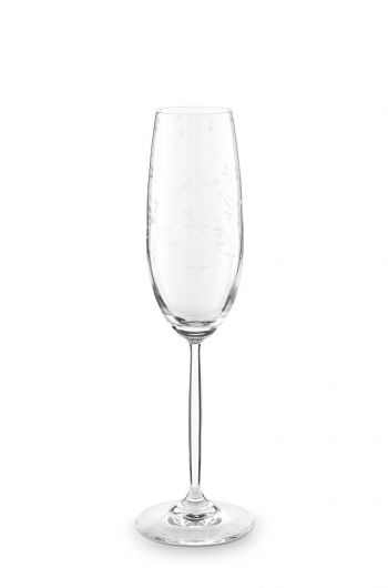 Basics Champagneglas Etching