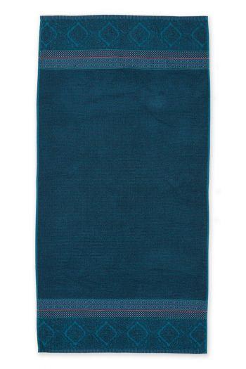 Douchelaken-handdoek-xl-donker-blauw-70x140-soft-zellige-pip-studio-katoen-terry-velour