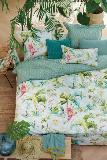 duvet-cover-white-flowers-palm-scenes-2-persons-pip-studio-240x220-140x200-cotton