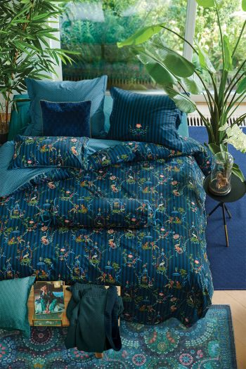 Duvet-cover-singerie-dark-blue-stork-pip-studio-2-persons
