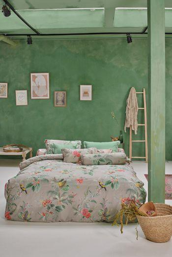 Duvet-cover-flower-khaki-floris--pip-studio-2-persons-240x220-140x200-cotton