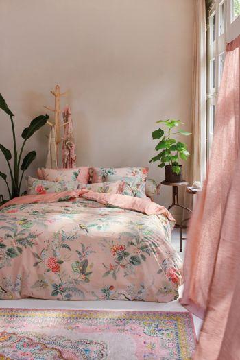 Dekbedovertrek-bloemen-roze-floris-pip-studio-2-persoons-240x220-140x200-katoen